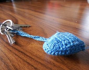 Crochet Pattern for Key Cap, Key Chain, Key Cover, pourse, bags