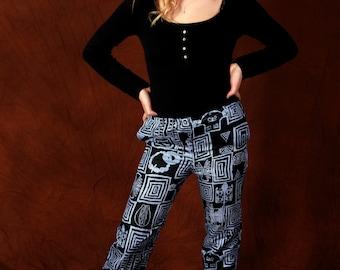 Ndop Bami  African print trousers