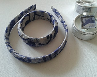 Mia- Handmade Set of fabric Jewelry