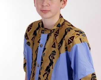 Male African Modern Shirt -