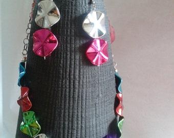 Deloris - colorful Bib Necklace