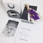 The Fox Tarot 78 Card Deck with 96 Page Guidebook