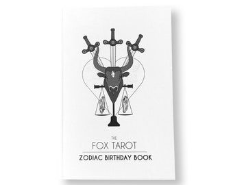 Zodiac Birthday Book (36 Pages)