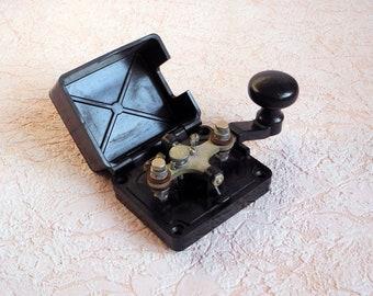 Military telegraph key (type 1.2). Soviet Morse key