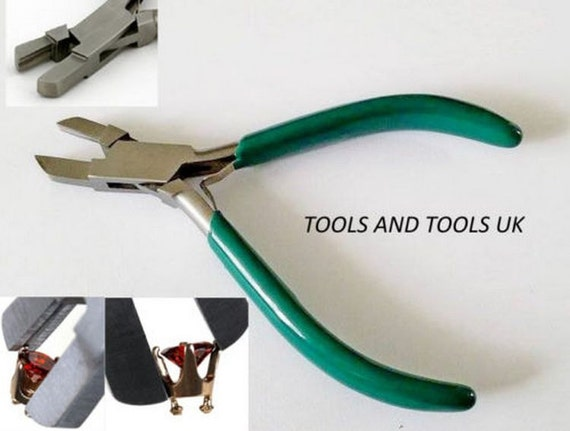 Tightening Wire With Pliers   Top Quality Stone Setting Pliers Jewelry Making Beads Craft Etsy