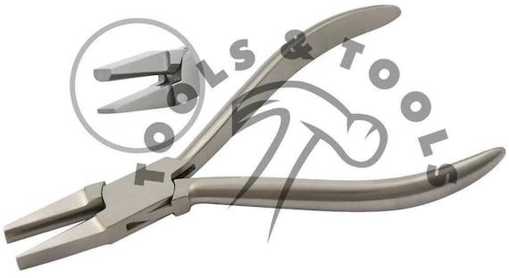 Top Quality Flat Half Round Nose Jaws Jewellery Making Forming Beading Pliers