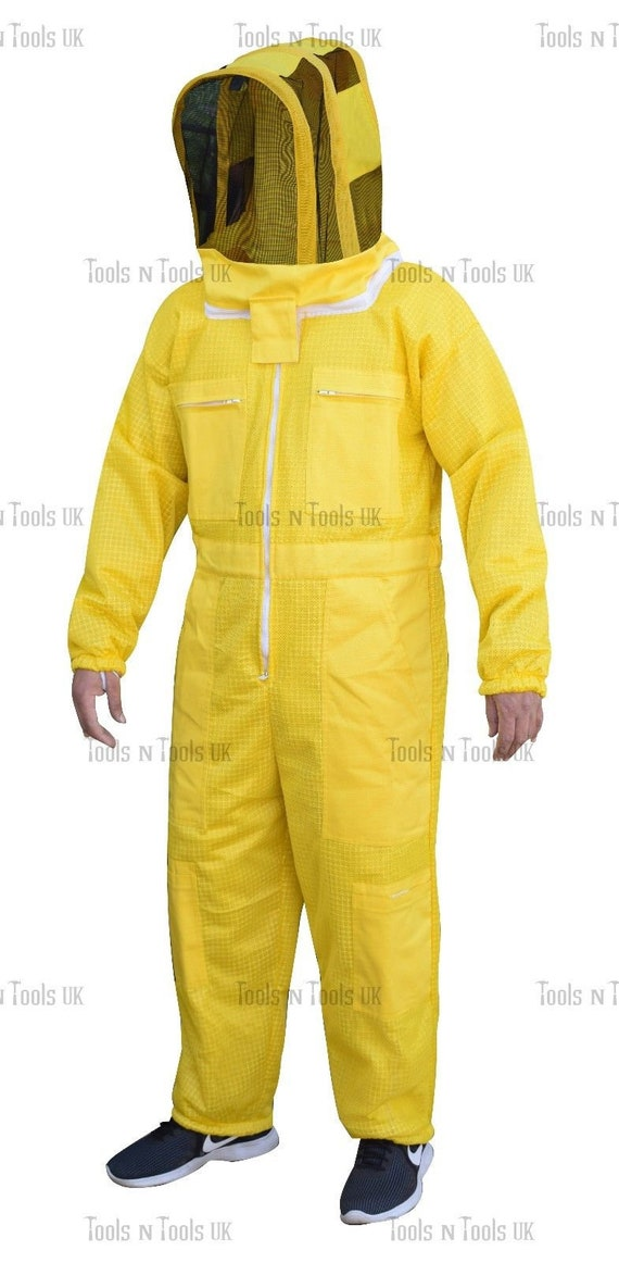 PRO THREE LAYERS MESH ULTRA BEEKEEPING SUIT BEE SUIT VENTILATED COOL AIR XXXL