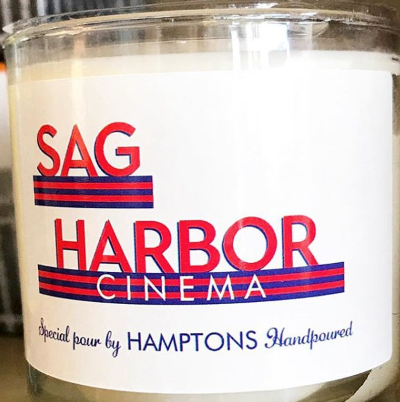 SAG HARBOR CINEMA 8 oz. Tumbler Sandalwood Bergamot Cinnamon image 0