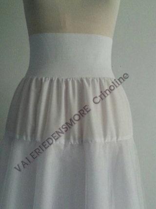 Bridal crinoline. White crinoline. White petticoat. Long crinoline. Pretty clothes. Bridal wear. Petticoat. Long petticoat. Wedding slip.