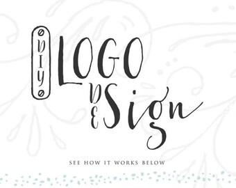 Création de Logo d'aquarelle florale Couronne Logo Design Custom Logo Design Boutique Logo Mandala Logo site Web Blog Logo photographie Logo Boutique Etsy