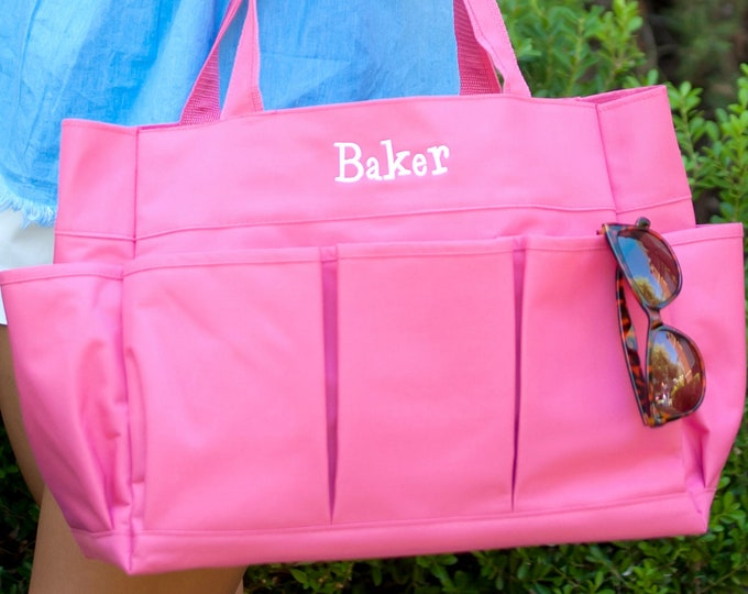 Monogrammed Carry All Tote