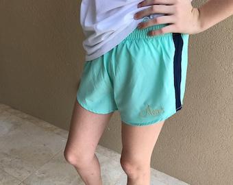 Monogrammed Soft Fit Shorts