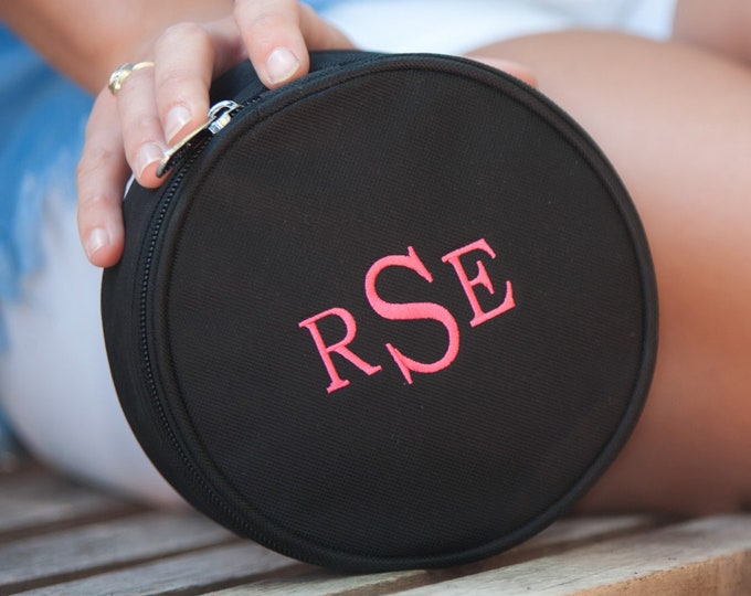 Personalized Jewelry Accessory Bag