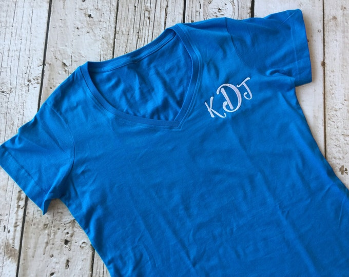 Monogrammed Sleep Cover Up T Shirt Casual Dress
