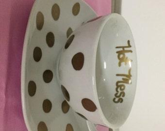 Sarcastic tea set