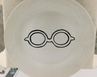 Eyeglass plate set