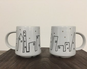 Skyline tea set