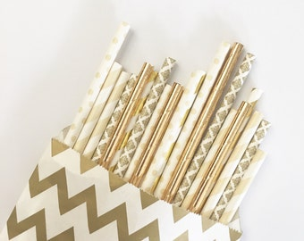 Goldilocks straw mix// paper straws, straws, birthday party, wedding, bachelorette party, baby shower, party supplies, decorations, decor
