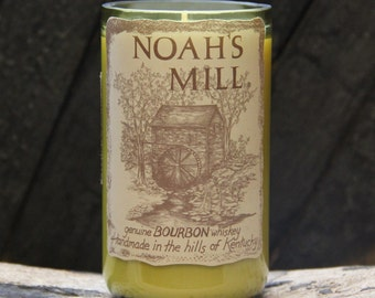 Noah's Mill Bourbon Whiskey Candle / Bourbon Candle / Gift For Men, For Him, Gift For Boyfriend Kentucky Bourbon Gift, Fathers Day Gifts