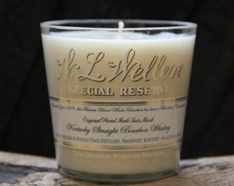 W. L. Weller Whiskey Candle / Bourbon Candle / Man Candle, Weller Gift Guy Gift Gift For Grandpa, Father's Day Gift