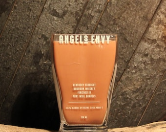 Angels Envy Whiskey Candle / Gift For Boyfriend, Present For Men, Christmas Gift For Him, Bourbon Candle, Whiskey Gift, Fathers Day Gifts