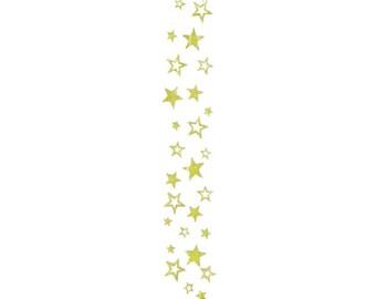 Clear Homecoming Stars Ribbon
