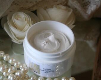 Highlighting Cream~ Pearl Highlight~Cosmetic Cream~Highlighter~Cosmetic~ Natural Makeup~Highlighting Cream ~Pearl White Highlighter~Organic~