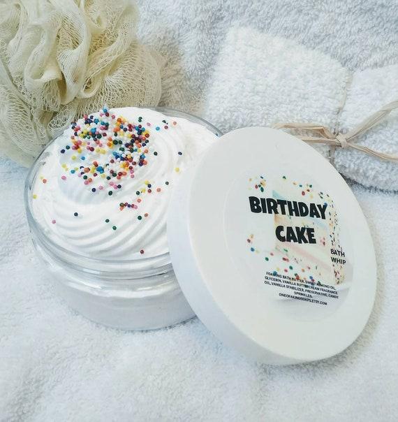 Birthday Cake Whipped SoapCake Body WashShaving