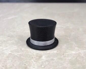 39db785c56f5f2 Miniature Top Hat, Doll Top Hat, Tiny Top Hat, Small Top Hat, Snowman Top  Hat, Top Hat, Plastic Top Hat, Little Top Hat, Black Top Hat