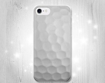 dacdddab71abf4 Golf Ball Transparent Clear Case For iPhone X 8+ 7 Samsung Galaxy Google  HTC LG Motorola OnePlus Huawei Sony