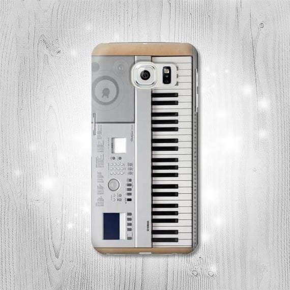 Keyboard Digital Piano Hard & Leather Flip Case Huawei P30 Mate 30 Pro  Honor LG G8 Motorola Moto Nokia OnePlus 7 6 Sony Xperia