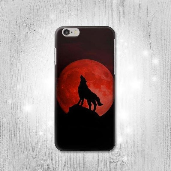 Wolf Howling Watercolor iPhone 11 case