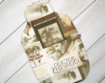 Heat bottle cover/heat bottle cover with film titles