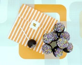 Marzipan Pops Chocolate Covered  Lollipops, Baby Shower Party Favour