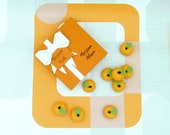 Marzipan Box of Oranges 3d Fruit Cake Topper Decorations