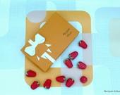 Marzipan Strawberries Box Of 15  Cake Decoration, Vegan Foodie Gift Idea