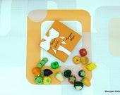 Marzipan Vegetables Box Of 9 Gardeners Gift Cake Topper Decor Novelty Gift