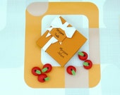 Marzipan Fruits Handmade Red Apples, Fruit Cake Topper, Foodie Party Favours