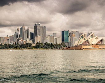 City Photography Print ~CLEAR~ Wall Art, Photographic Print, Sydney Art Print, Photo Print, City