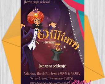 Printable Magic Party Invitation
