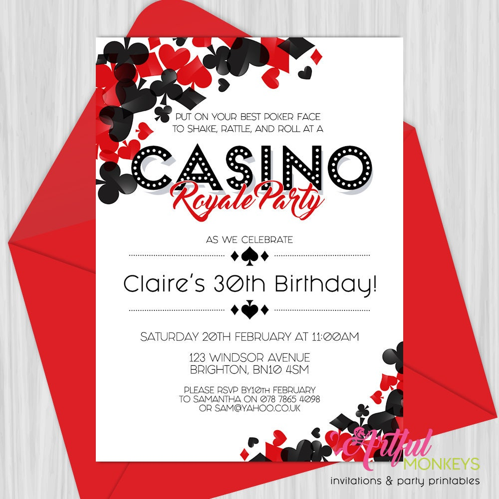 Modern Over The Hill Party Invitations Images - Invitations and ...