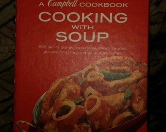 Campbell Cookbook Cooking with Soup