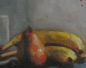 Bananas and Pear