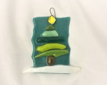 Glass Christmas Tree Ornaments