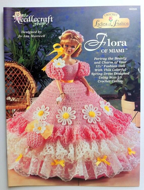 Barbie muñeca patrón Flora de Miami la tienda de bordados   Etsy