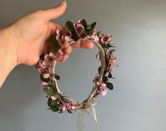 Flower Crown, Newborn Flower Crown, Bridal Crown, Baby Flower Crown, Toddler Flower Crown, Bohemian Crown, Floral Crown, Wedding Crown