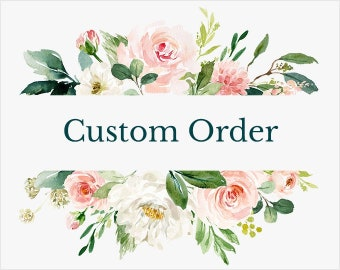 Custom Order for Alma