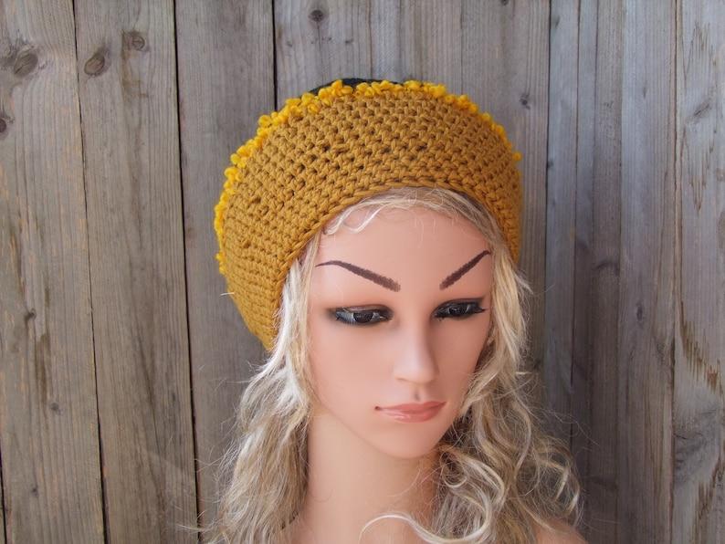 Tams Women Hat,Women hat,Wool Hand Knitted Hat,Crochet Beanie,Beanie Hat,Winter Hat,Beanie Headwear,Chunky Knit Hat,Oversized Beanie