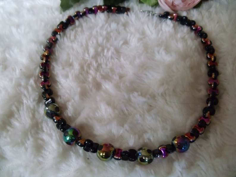 Monia Statement Necklaces Vintage C-Zech Beads