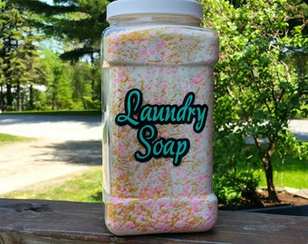 Homemade Laundry Soap Container